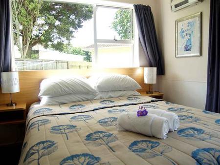 Whanganui River Top 10 Holiday Park - Whanganui - Schlafzimmer