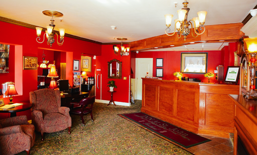 Inn at St John - Portland - Front desk