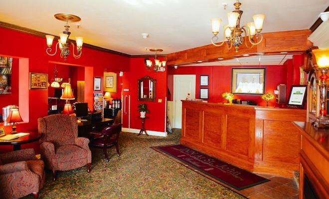 Inn at St John - Портленд - Ресепшен