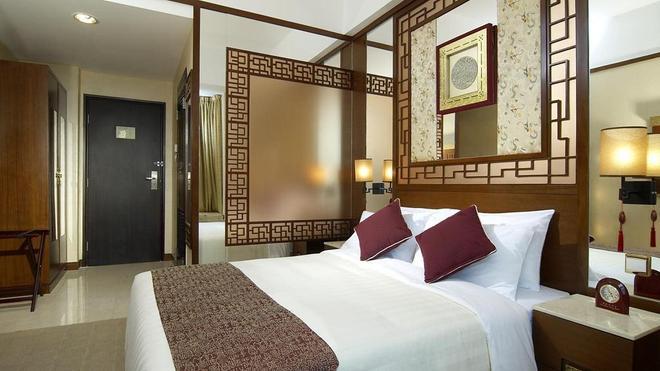 Lan Kwai Fong Hotel @ Kau U Fong - Hongkong - Schlafzimmer