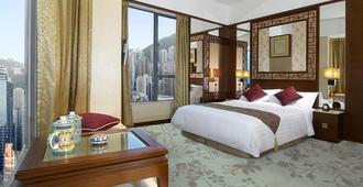 란 콰이 퐁 호텔 @ 카우 우 퐁 - 홍콩 - 침실