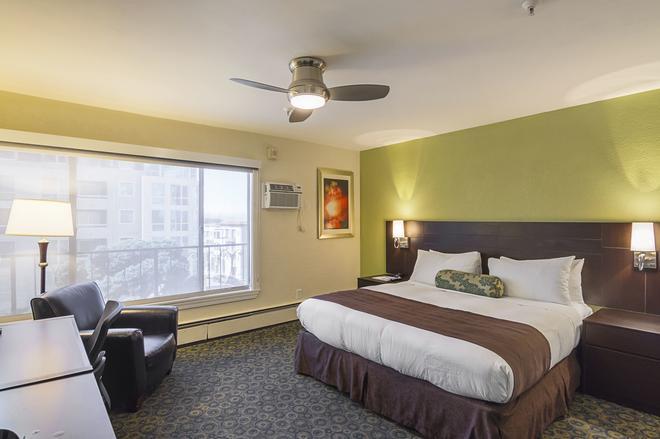 達芬奇別墅酒店 - 舊金山 - 臥室