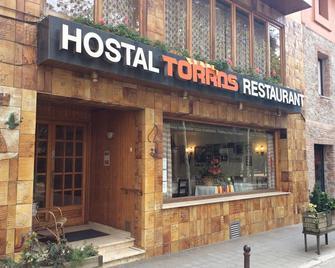 Hostal Torras - Sant Hilari Sacalm - Gebäude