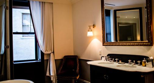 The Nomad Hotel - New York - Bathroom