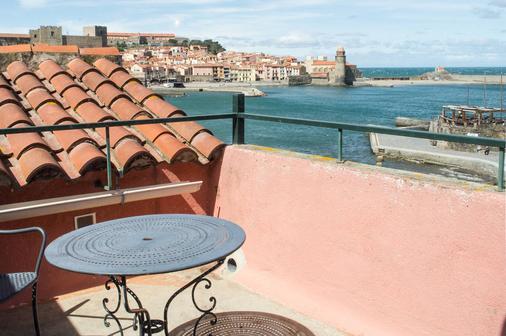 Hôtel Triton - Collioure - Balcony
