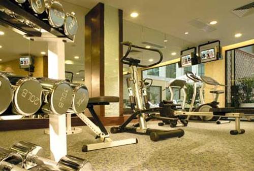 Hotel Golden Dragon - Macao - Salle de sport