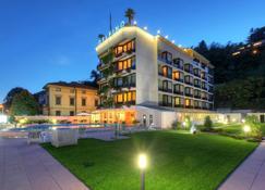 Hotel Delfino - Lugano - Gebäude