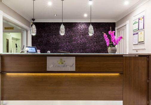 Kingsland Hotel - London - Front desk