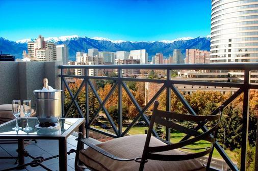 Hotel Kennedy - Santiago de Chile - Balcón
