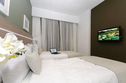 Hotel Adrianópolis All Suites - Manaus - Bedroom