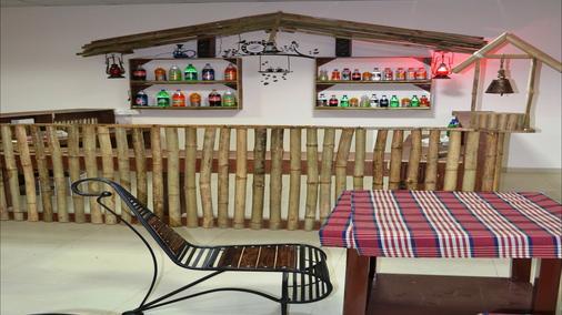 Hotel Oak Bush - Mussoorie - Front desk