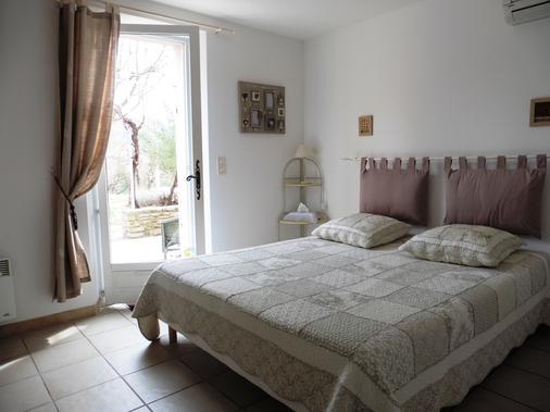 L'Esclériade - Entrechaux - Bedroom