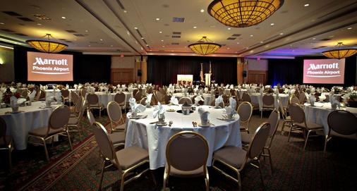 Marriott Phoenix Airport - Phoenix - Banquet hall