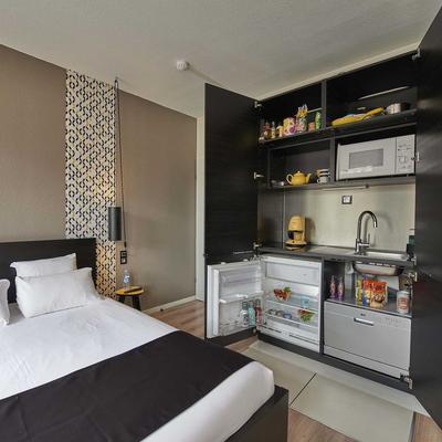 L'aparthoteL LhL - Dijon - Cocina