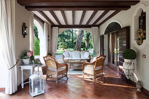 Villa Zane - Treviso - Innenhof