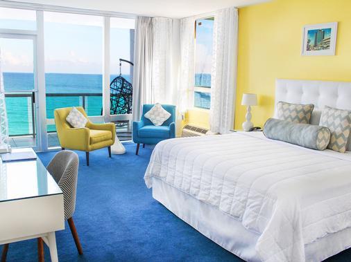 Deauville Beach Resort - Bãi biển Miami - Phòng ngủ