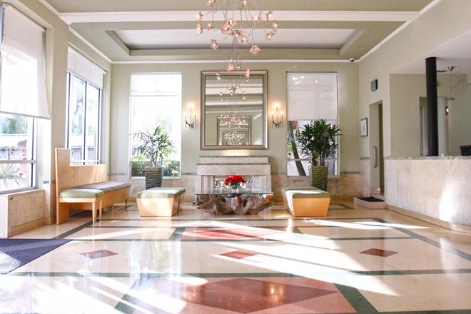 克雷斯特套房酒店 - 邁阿密海灘 - 邁阿密海灘 - 大廳