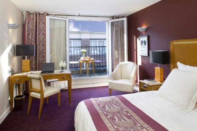 馬萊公園酒店 - 巴黎 - 巴黎 - 臥室