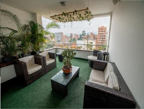 Hotel Suite Comfort - Medellín - Balcony
