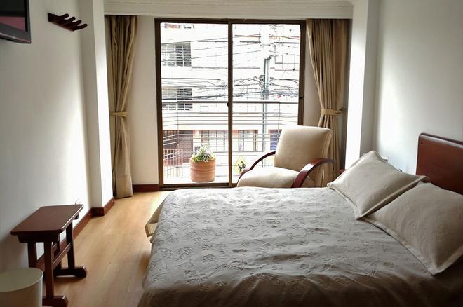 阿利坎特酒店 - 波哥大 - 臥室