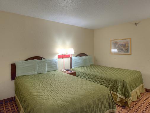 Continental Inn Charlotte - Charlotte - Makuuhuone