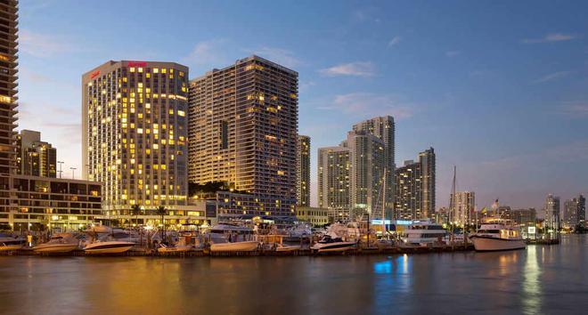 Miami Marriott Biscayne Bay - Miami - Rakennus