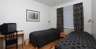 Metropolitan Hotel - רייקיאוויק - חדר שינה