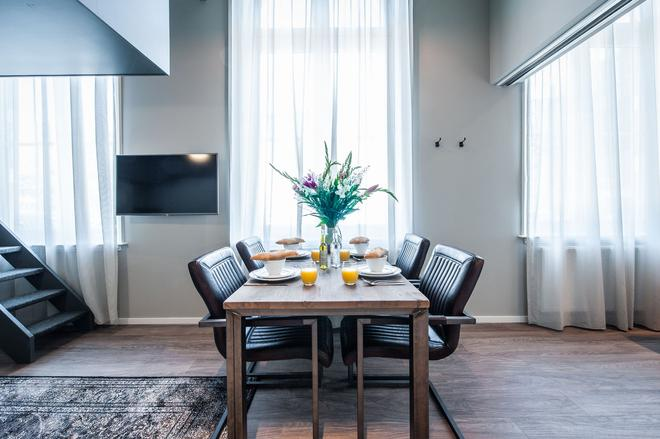 Yays Oostenburgergracht Concierged Boutique Apartments - Amsterdam - Ruokailuhuone
