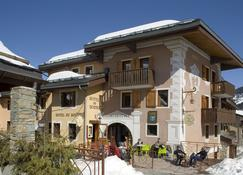 Hotel Du Bourg - Les Avanchers-Valmorel - Gebouw