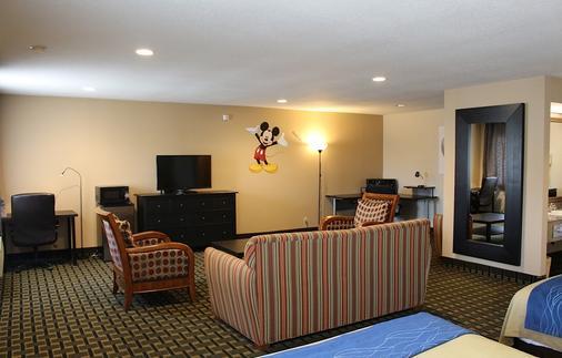 Stanford Inn & Suites Anaheim - Anaheim - Phòng khách