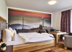 Berggasthof Hotel Fritz - Drachselsried - Bedroom