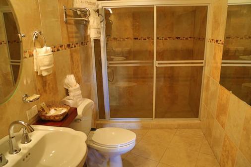 Hotel Le Chateau - Managua - Phòng tắm
