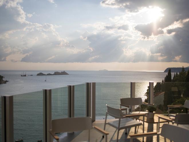 Hotel Kompas - Ragusa - Balcone