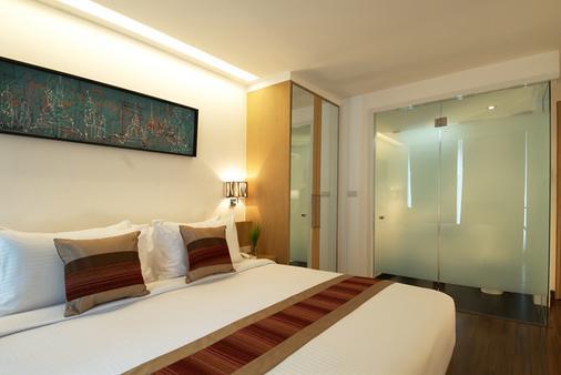 市角酒店 - 曼谷 - 臥室