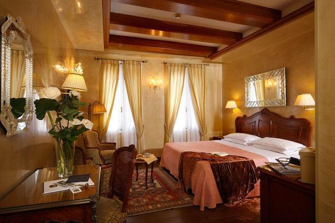 Hotel Bisanzio - Venetsia - Makuuhuone