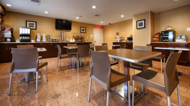 貝斯特韋斯特普勒斯阿雷納酒店 - 布魯克林 - 布魯克林 - 餐廳
