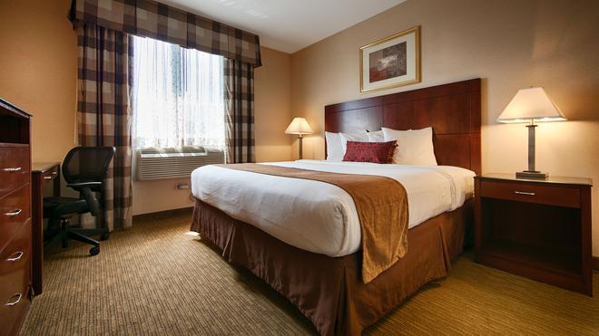 貝斯特韋斯特普勒斯阿雷納酒店 - 布魯克林 - 布魯克林 - 臥室
