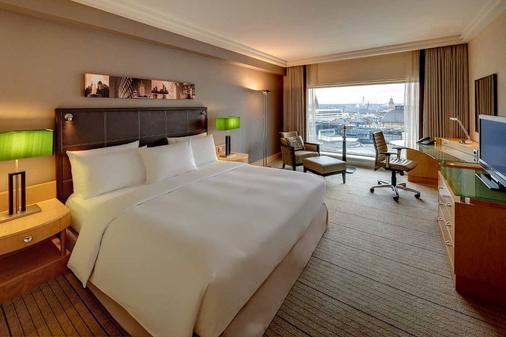 法蘭克福市中心希爾頓酒店 - 法蘭克福 - 臥室