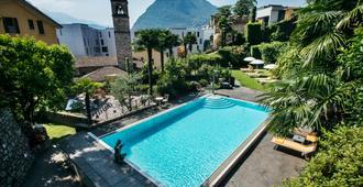 International Au Lac - Lugano - Restaurant