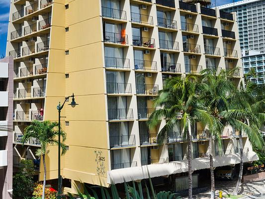 Aqua Bamboo Waikiki - Honolulu - Building
