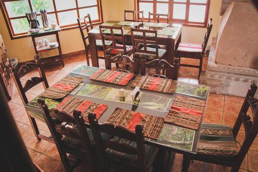 Arcopata Guest House - Cusco - Phòng ăn