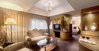 كوزموس هوتل تايبيه - مدينة تايبيه - غرفة معيشة