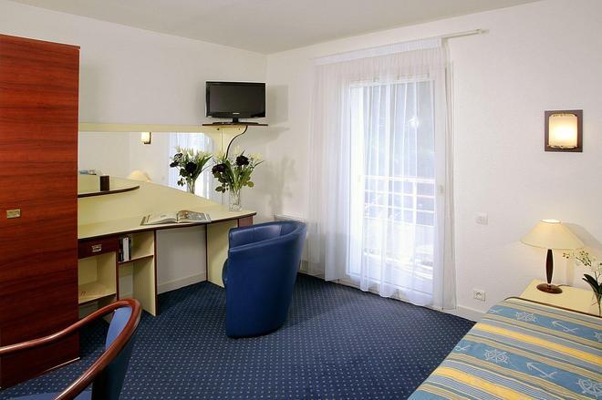 Terres De France - Appart'hotel Brest - Brest - Phòng ngủ