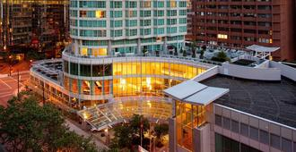 Vancouver Marriott Pinnacle Downtown Hotel - Vancouver - Gebouw