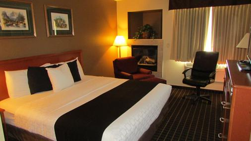 Fairbridge Inn & Suites - Leavenworth - Makuuhuone