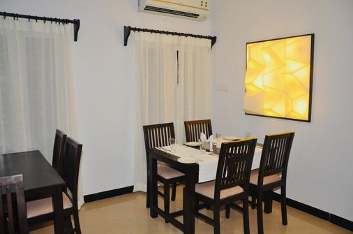 Annsun Boutique Hotel - Chennai - Ruokailuhuone