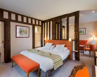 Hotel Restaurant Le Dauphin et Le Spa du Prieuré - Caen - Slaapkamer