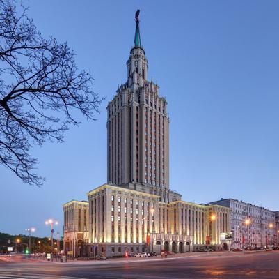 Hilton Moscow Leningradskaya - Moskova - Rakennus
