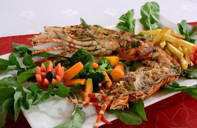 貝爾特埃沙藍酒店 - 桑吉巴城 - 桑給巴爾 - 飲食