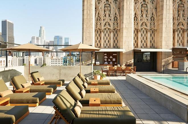Ace Hotel Downtown Los Angeles - Los Ángeles - Azotea
